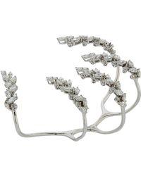 YEPREM - Diamond Claw Ring - Lyst
