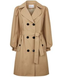 Claudie Pierlot - Bow Cuff Trench Coat - Lyst