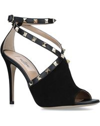 6c0581b0816 Lyst - Valentino Couture Patent Leather Bow Pumps in Black