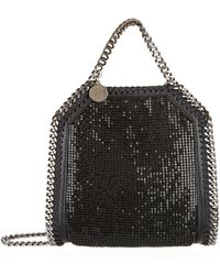 Stella McCartney - Falabella Chainmail Tiny Tote - Lyst