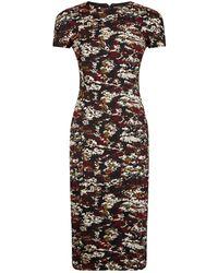 Victoria Beckham - T-shirt Fitted Dress - Lyst