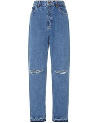 Sandro - Distressed Vintage Jeans - Lyst