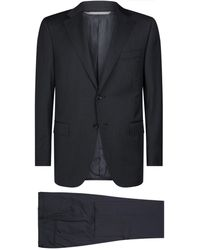 Canali - Exclusive Wool Suit - Lyst