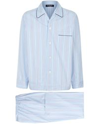 Harrods - Statement Striped Pyjama Set - Lyst