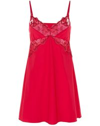 Fantasie - Embroidered Chemise - Lyst