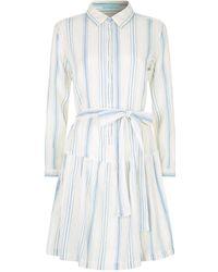 Melissa Odabash - Amelia Belted Shirt Dress - Lyst