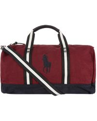 8c3acdb01a Lyst - Polo Ralph Lauren Big Pony Zip Tote in Blue for Men