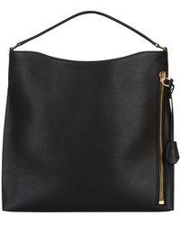 Tom Ford Medium Alix Hobo Bag - Black