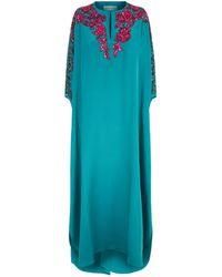 Emilio Pucci - Embellished Silk Kaftan - Lyst