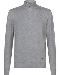 Emporio Armani - Double Layer Sweater - Lyst