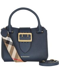 Burberry - Small Buckle Tote Bag - Lyst