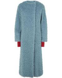 ROKSANDA - Edine Textured Camel Coat - Lyst