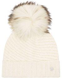Spyder - Idol Knitted Bobble Hat - Lyst