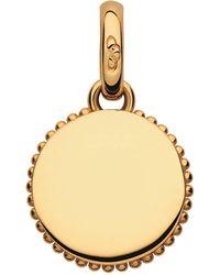 Links of London - Yellow Gold Narrative Miniature Disc Bracelet Charm - Lyst