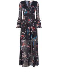 Keepsake - Paperthin Floral Maxi Dress - Lyst