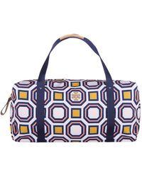 Tory Burch - Printed Nylon Duffle Bag - Lyst