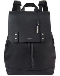 Saint Laurent - Leather Drawstring Backpack - Lyst