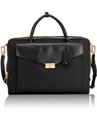 Tumi - Erin Leather Trim Briefcase - Lyst