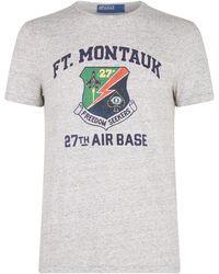 8f61f5a3 Polo Ralph Lauren Wimbledon T-shirt in White for Men - Lyst