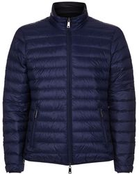 Armani Jeans - Reversible Quilted Jacket - Lyst