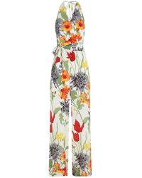 Alice + Olivia - Cyprus Belted Jumpsuit - Lyst