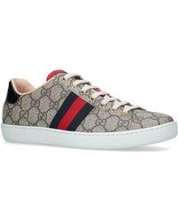 Gucci - New Ace Gg Supreme Sneakers - Lyst