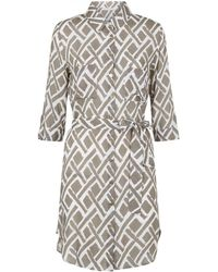 Heidi Klein - Cote D'azur Relaxed Shirt Dress - Lyst