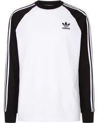adidas Originals - 3-stripes Long Sleeve T-shirt - Lyst