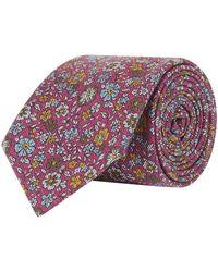 Eton of Sweden   Floral Tie   Lyst