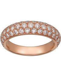 Cartier - Pink Gold And Diamond Tincelle De Ring - Lyst