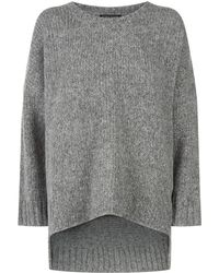 Eileen Fisher - Chunky Knitted Alpaca Jumper - Lyst