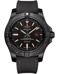 Breitling - Titanium Avenger Blackbird Watch 44mm - Lyst