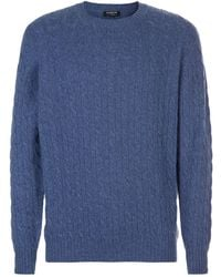 Harrods - Cable Knit Sweater - Lyst