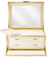 Aerin - Luxe Shagreen Jewellery Box - Lyst