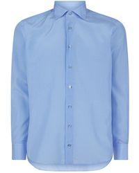 Zilli - Geo Diamond Cotton And Silk Shirt - Lyst