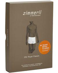 Zimmerli - Royal Classic Boxer Trunks - Lyst