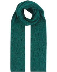 Sandro - Knitted Shimmer Scarf - Lyst