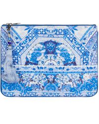 Camilla - The Fan Sea Clutch Bag - Lyst
