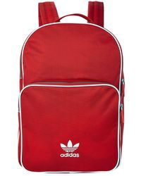 Adidas Originals | Adicolor Classic Backpack, Red, One Size | Lyst