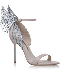 Sophia Webster - Evangeline Metallic Sandals - Lyst