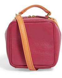 Natasha Zinko Two-colour Box Bag - Multicolor