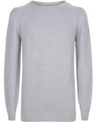 John Smedley - Knitted Wool Sweater - Lyst