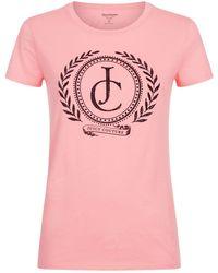 Juicy Couture | Laurel Logo T-shirt | Lyst