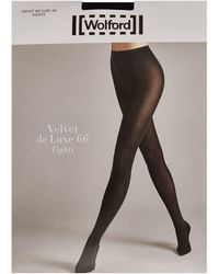 Wolford - Velvet De Luxe 66 Tights - Lyst