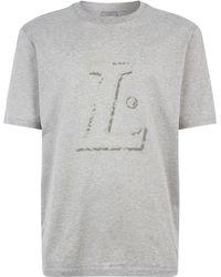 Lanvin - Imprinted T-shirt - Lyst