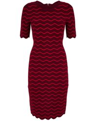 MILLY - Wave Bodycon Dress - Lyst