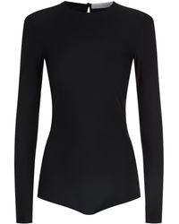 Victoria Beckham - Stretch Long Sleeve Body - Lyst