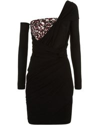 Roberto Cavalli - Asymmetric Sequin Dress - Lyst