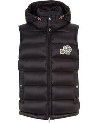 Moncler - Gers Hooded Gilet - Lyst