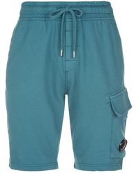C P Company - Jersey Sweat Shorts - Lyst